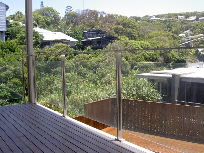 Glass Balustrades in Brisbane Home