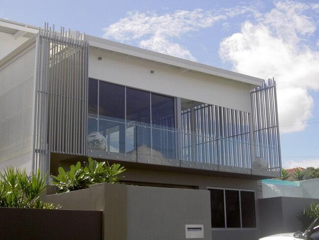 Glass Balustrades Brisbane | Semi Frameless Glass Balustrades