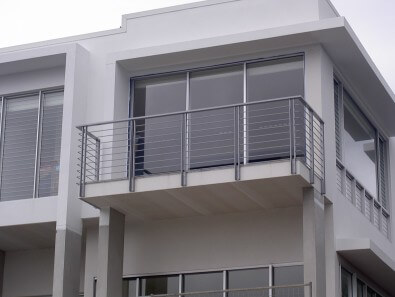 Stainless Steel Balustrades in Brisbane