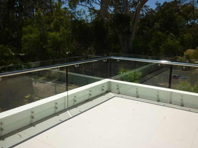 Custom Frameless Glass Balustrades