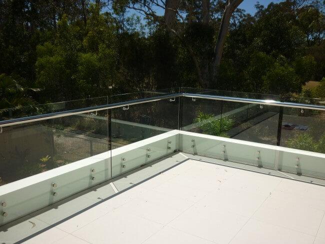 Custom Frameless Glass Balustrades