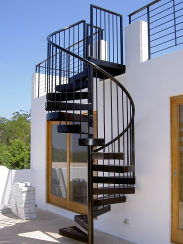 Well-Made Spiral stairs