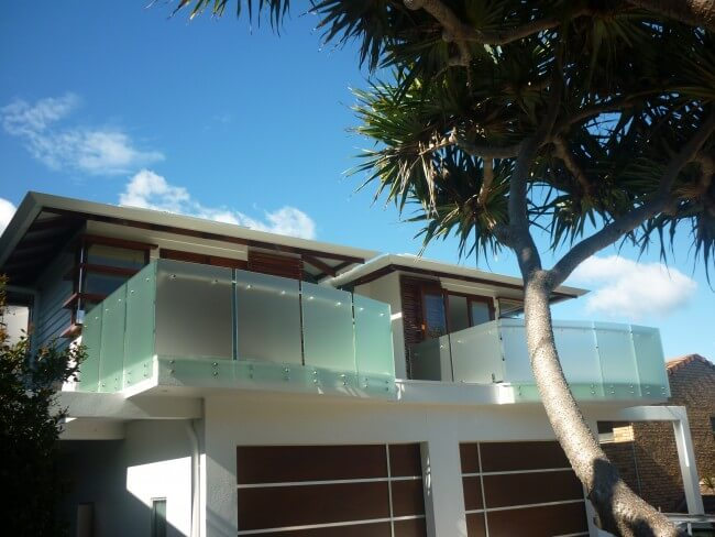 Glass balustrades in Brisbane for Home