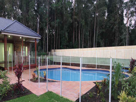 Glass Pool Fencing Solution for Brisbane