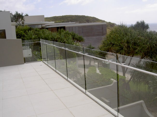 Frameless Glass Balustrades for Property