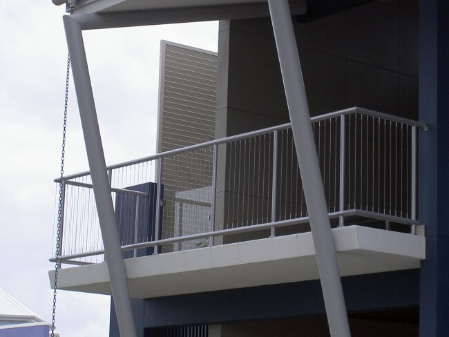 Custom Designed Aluminium Balustrades