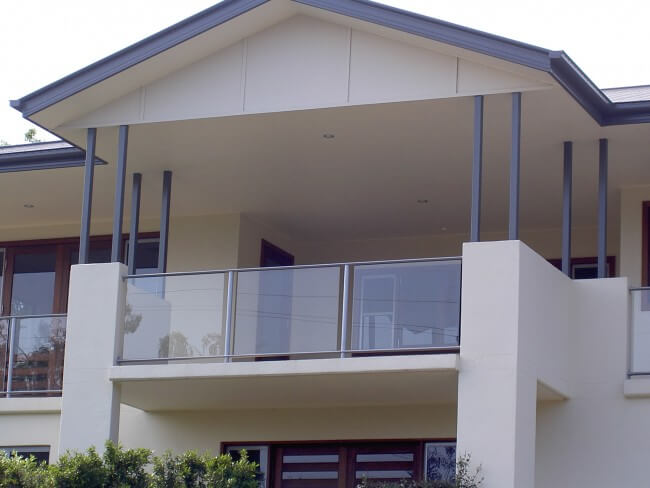 Glass balustrades for Home