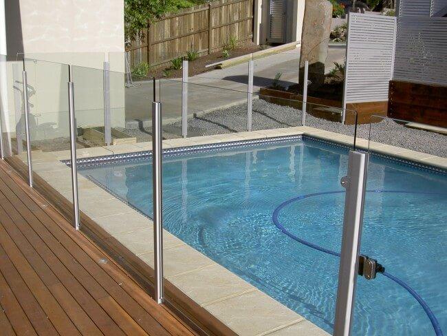 Attractive Aluminium & Glass Pool Fencing