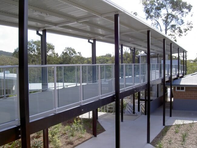 Framed Glass Balustrades