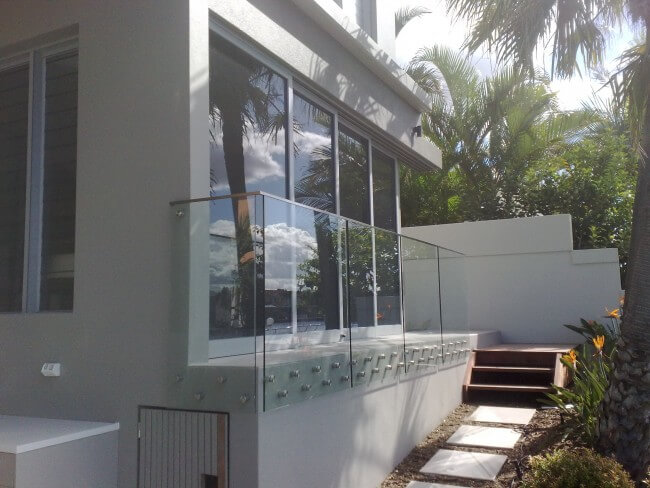 Custom Frameless Glass Balustrades for Property