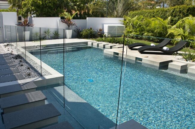 Attractive Glass Pool Fencing Brisbane