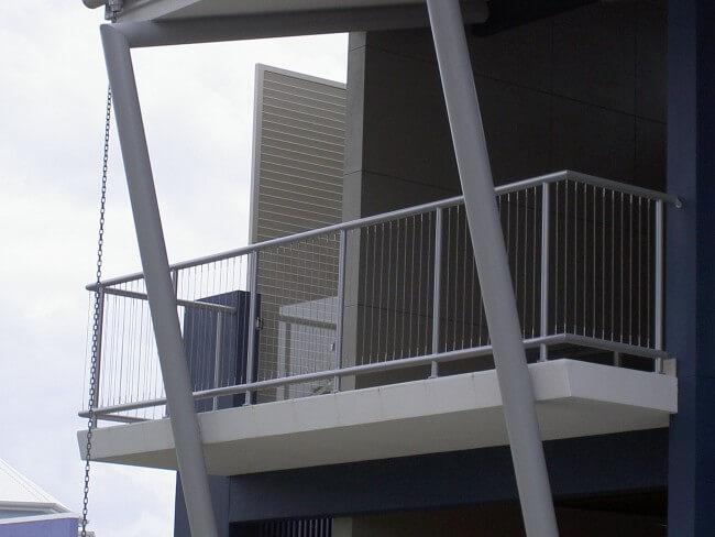 Custom Designed Aluminium Balustrades