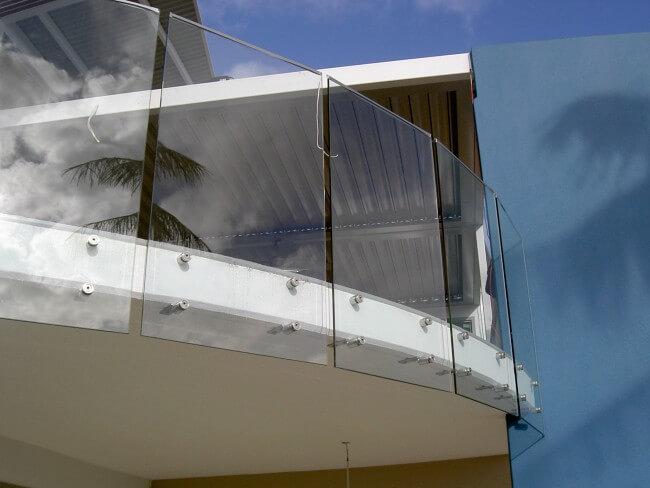 Custom Designed Glass Balustrades